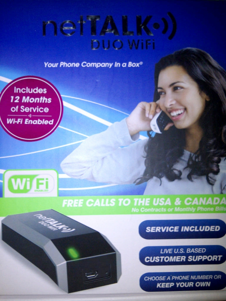 VOIP NetTalk Duo Wifi Giveaway