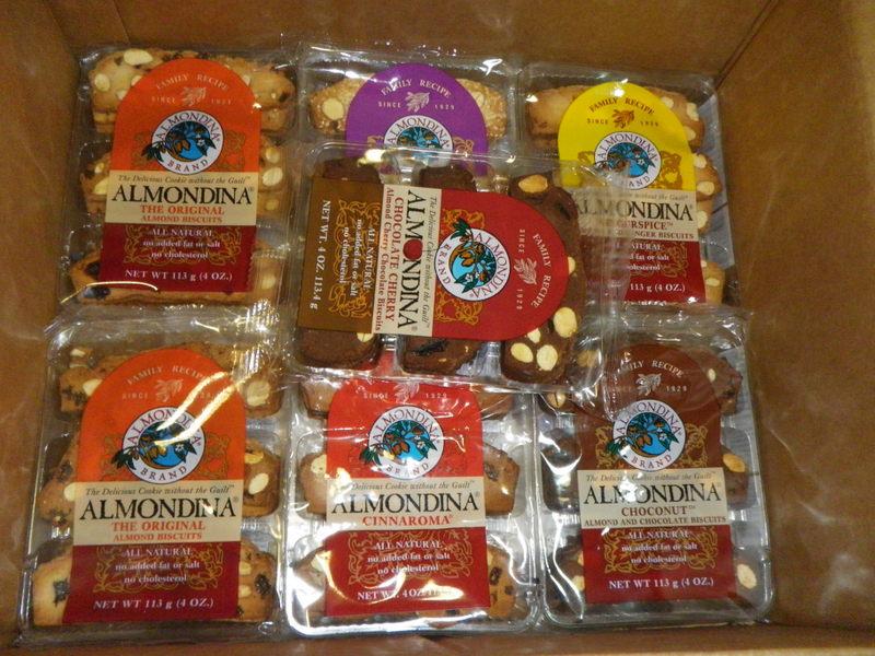Almondina Cookie Giveaway