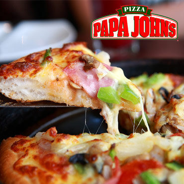1/2 Price Papa John's Pizza
