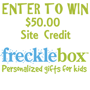 Frecklebox Giveaway $50 Gift Card