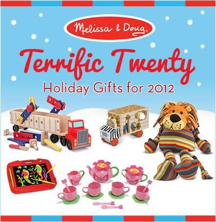 Melissa & Doug Terrific Twenty List and Giveaway