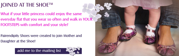 Matching Mother & Daughter Shoes Review & Giveaway
