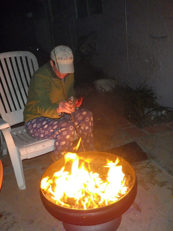 We Can Have S'mores All Winter Long – Loving Our Ohio Fire Pit