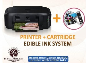 Canon ip3600 Inkedibles printer bundle (valued at $189) Giveaway