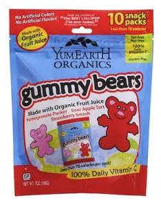 YumEarth gummybears Giveaway!