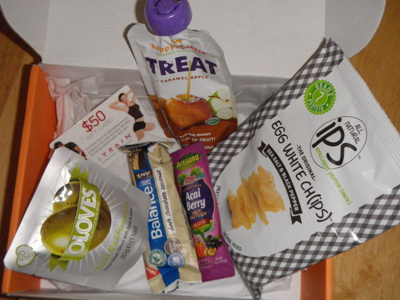 Bestowed! Monthly Box Full of Healthy Treats