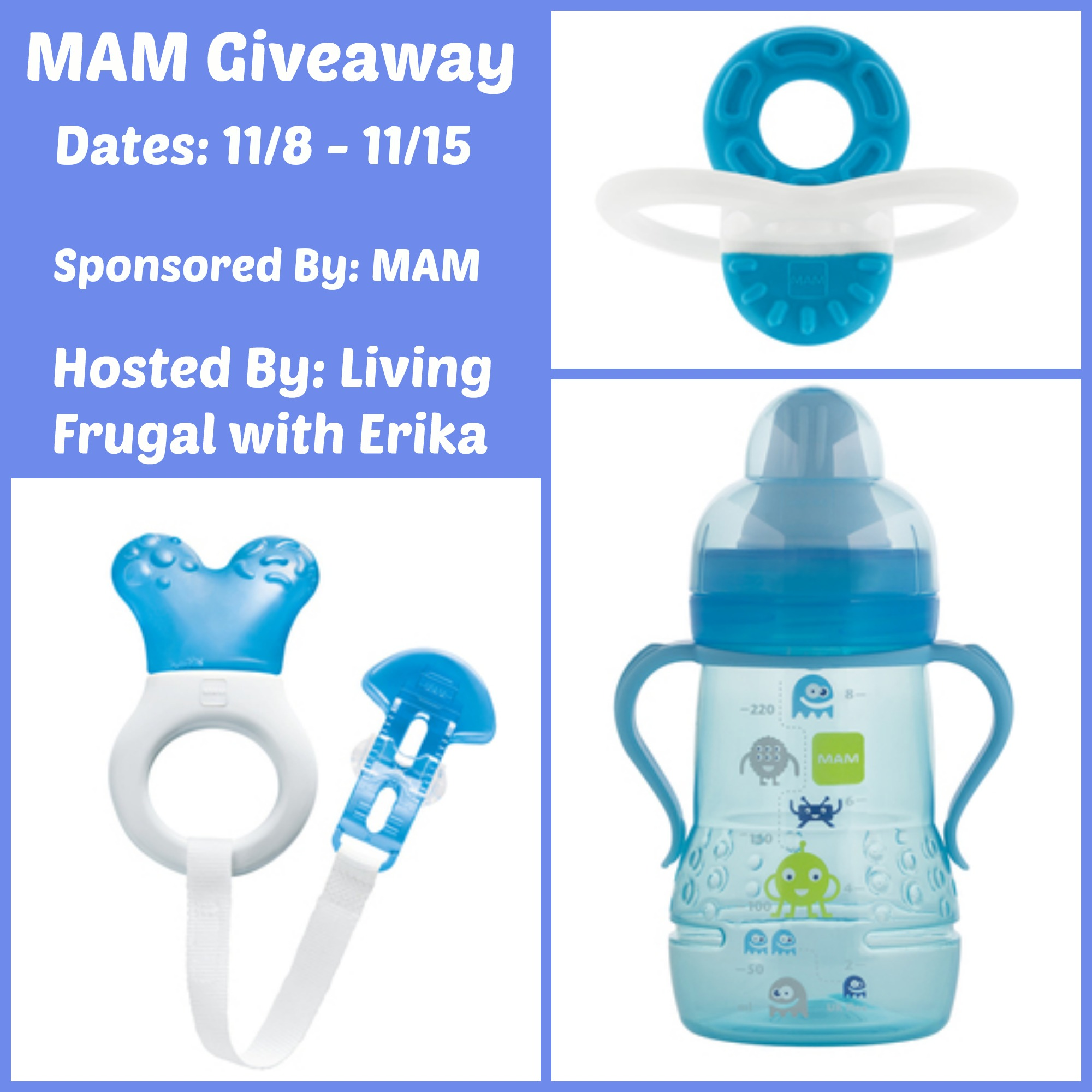 MAM Baby Products Giveaway