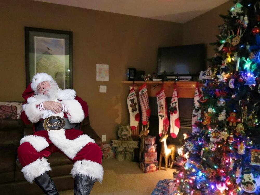 Charming Santa Fell Asleep On Your Couch After Too Many Cookies. ... Part 29