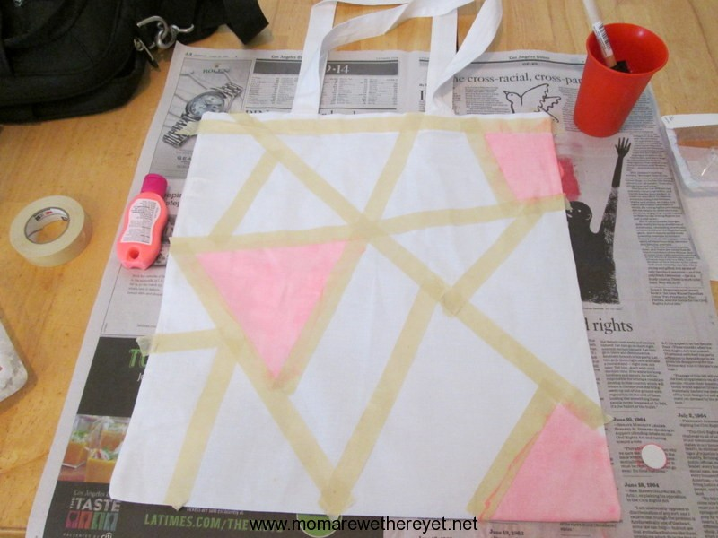 Summer Fun- Make A Tote #DIY #beach