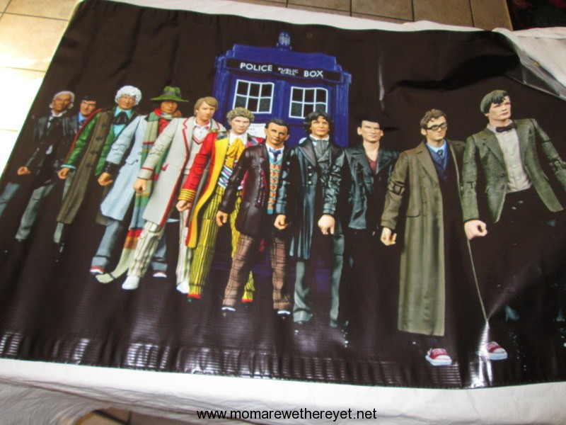 Doctor Who Birthday Banner