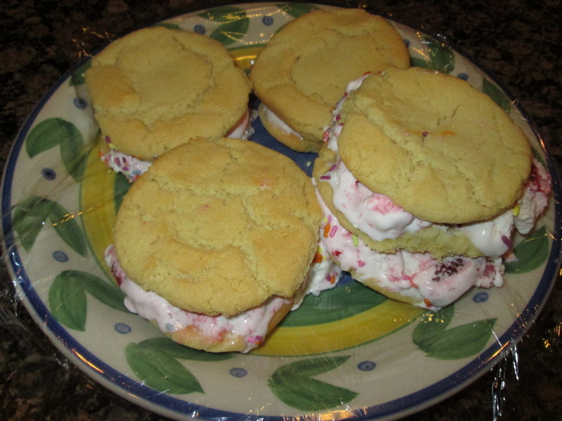 Ice Cream Cookie Sandwiches Recipe