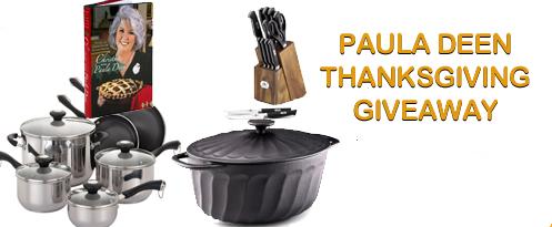 Paula Deen Thanksgiving Giveaway