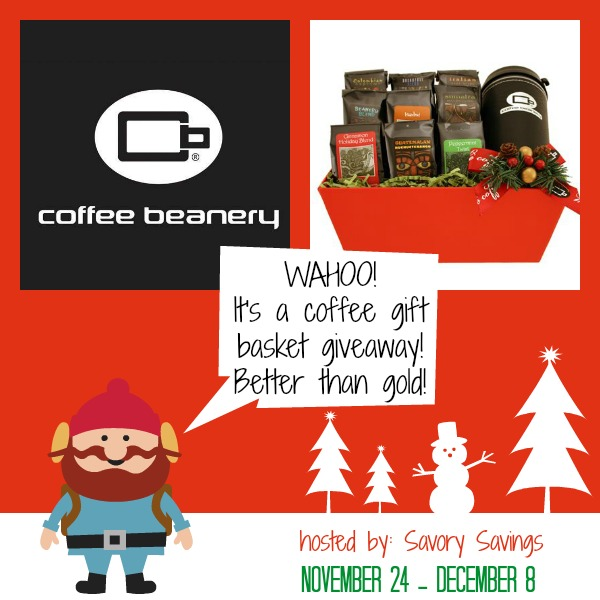 Coffee Beanery Gift Basket #Giveaway
