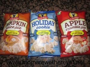 Holiday Popcorn Trail Mix