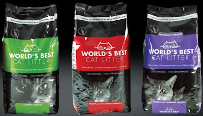 Free Cat Litter- World's Best.  Enter To Win.