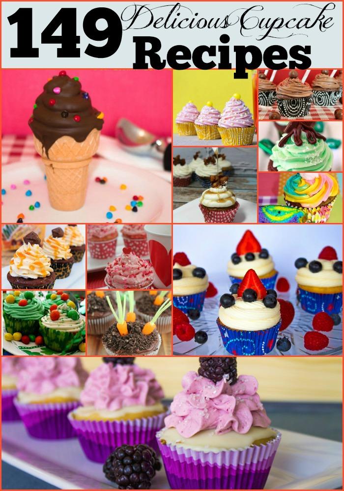 149 Fun, Delicious & Free Cupcake Recipes