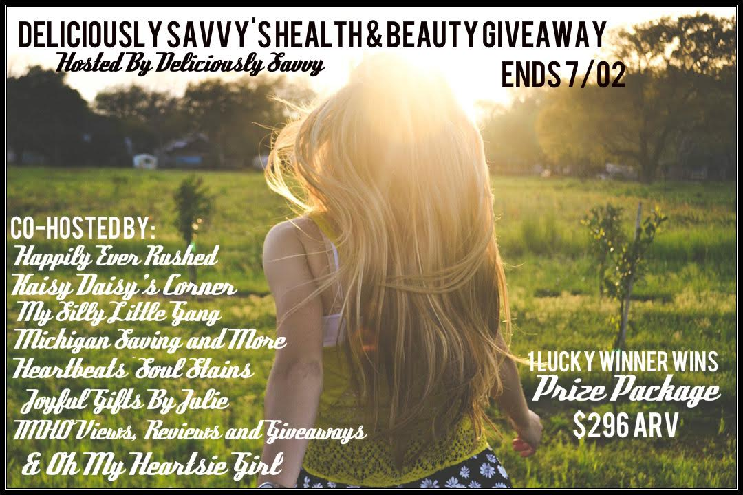 Deliciously Savvy's Health & Beauty Giveaway