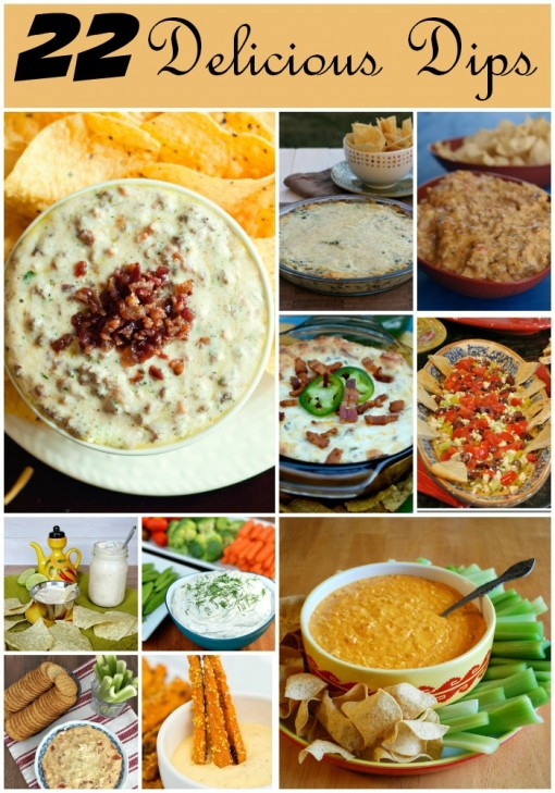 22 Delicious Dips- Perfect For Summer
