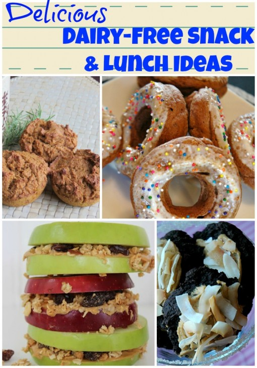 Dairy-Free Snack & Lunch Ideas