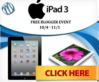 Giveaway Coming Soon: iPad3 Holiday Event