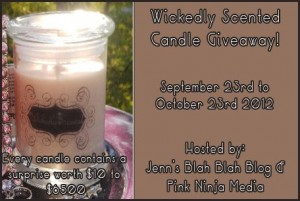Wickedly Scented Candle Giveaway