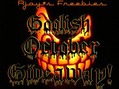 October Goolish Giveaway