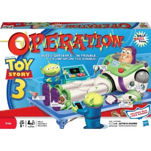 Buzz Lightyear Operation Game for $1 Christmas Shopping!