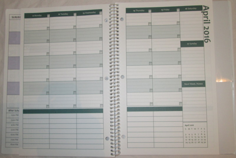 Back To School Academic Planner #Giveaway