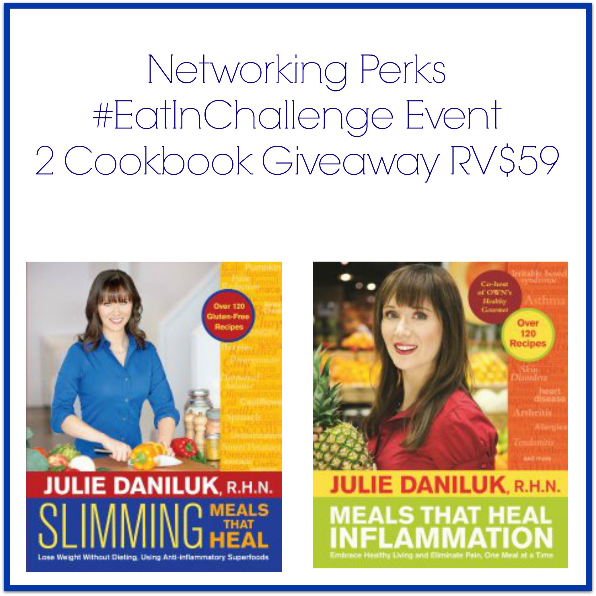 Eat In Challenge Giveaway