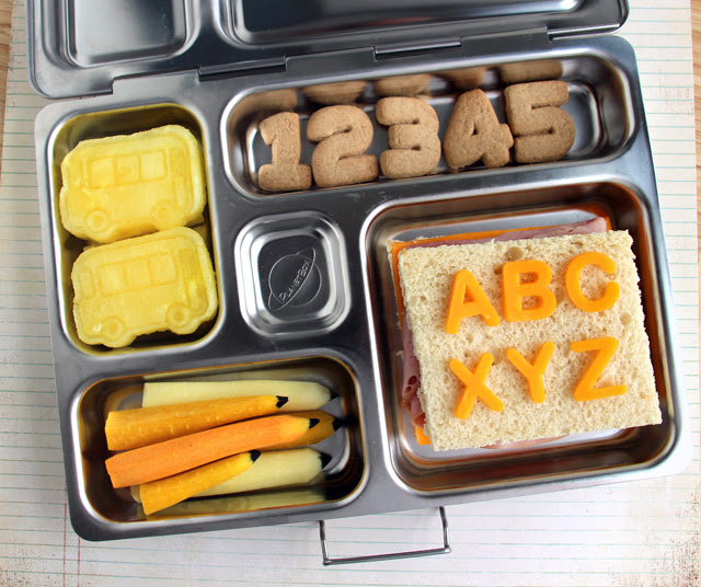 Back-To-School Bento Boxes; Great Lunch Ideas Too