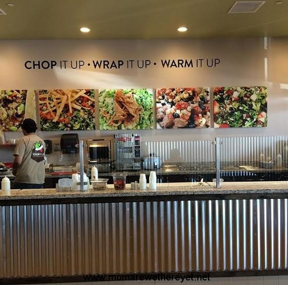 Chop It Up- New Salad & Wraps Restaurant; Simi Valley