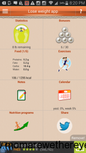 Android New Year Weight Loss App