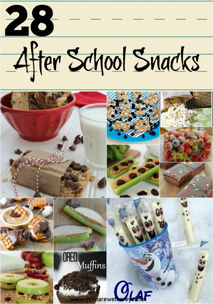 Back-To-School Lunch & After School Snacks & Recipes