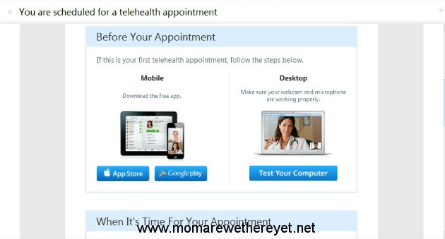 See A Doctor At Home With Amwell