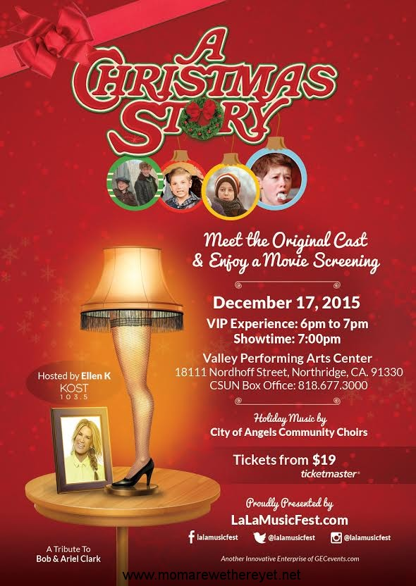 Tickets For A Christmas Story With Original Cast On Sale