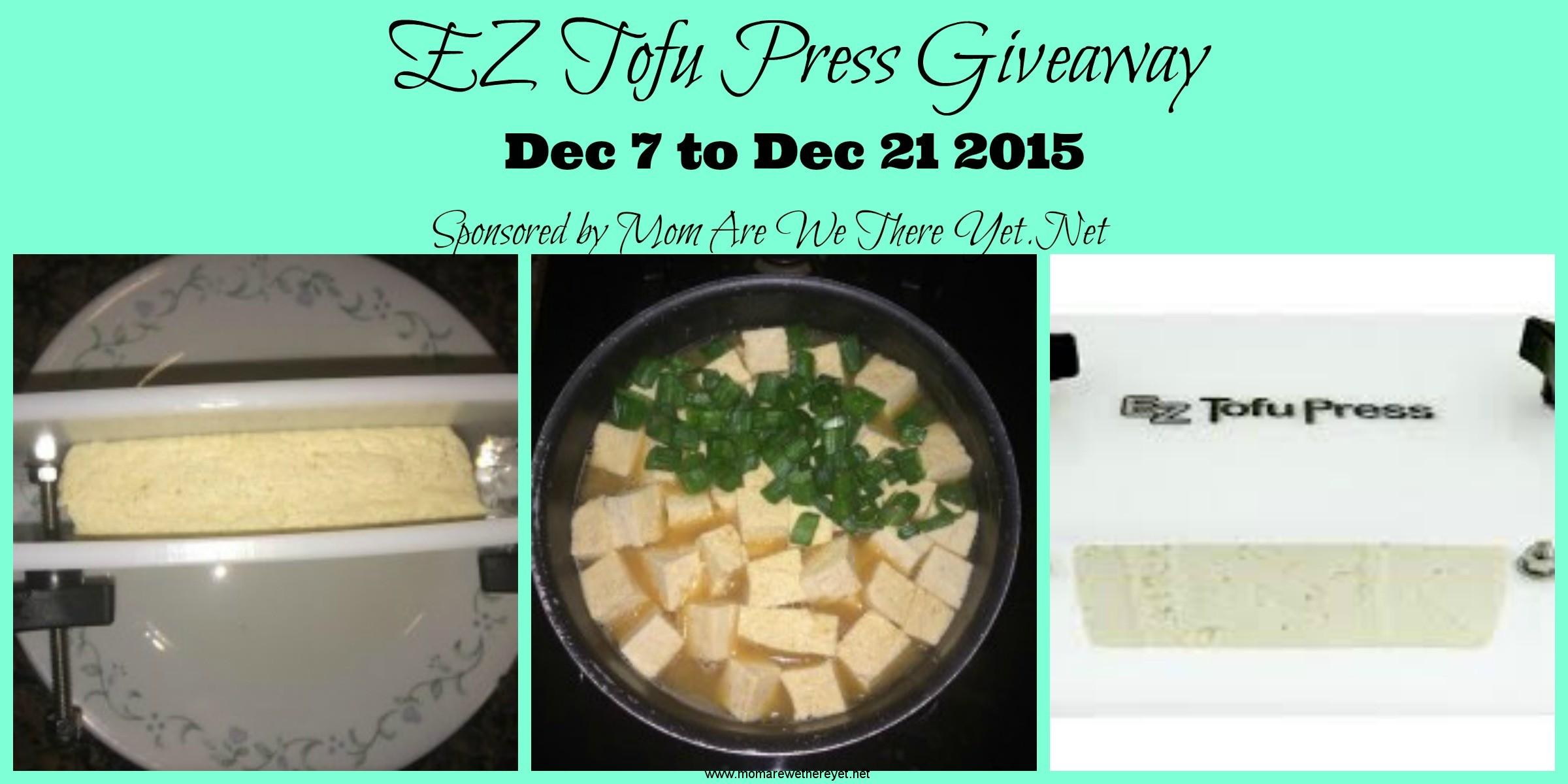 tofu giveaway