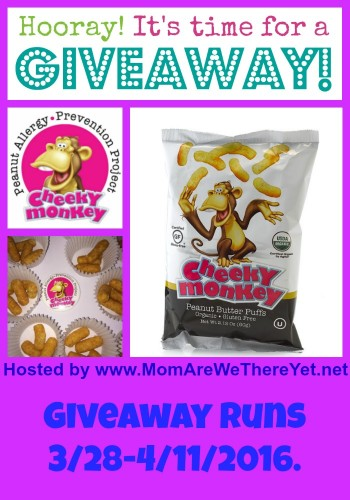 cheeky monkey giveaway