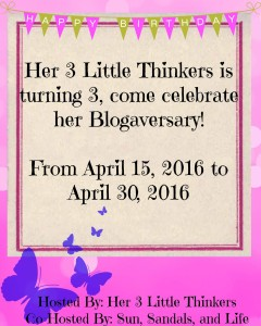 HER 3 LITTLE THINKERS GIVEAWAY