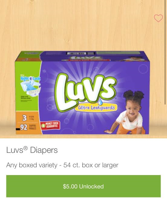 Double Deal Coupon For Diapers With Luvs & IBotta