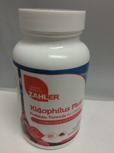 Zahler kidophilus plus probiotic
