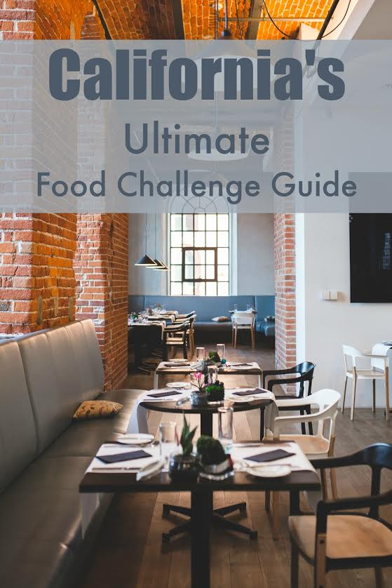 98 California Food Challenge Restaurants