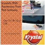 Krystal's 84th Anniversary Prize Pack Giveaway