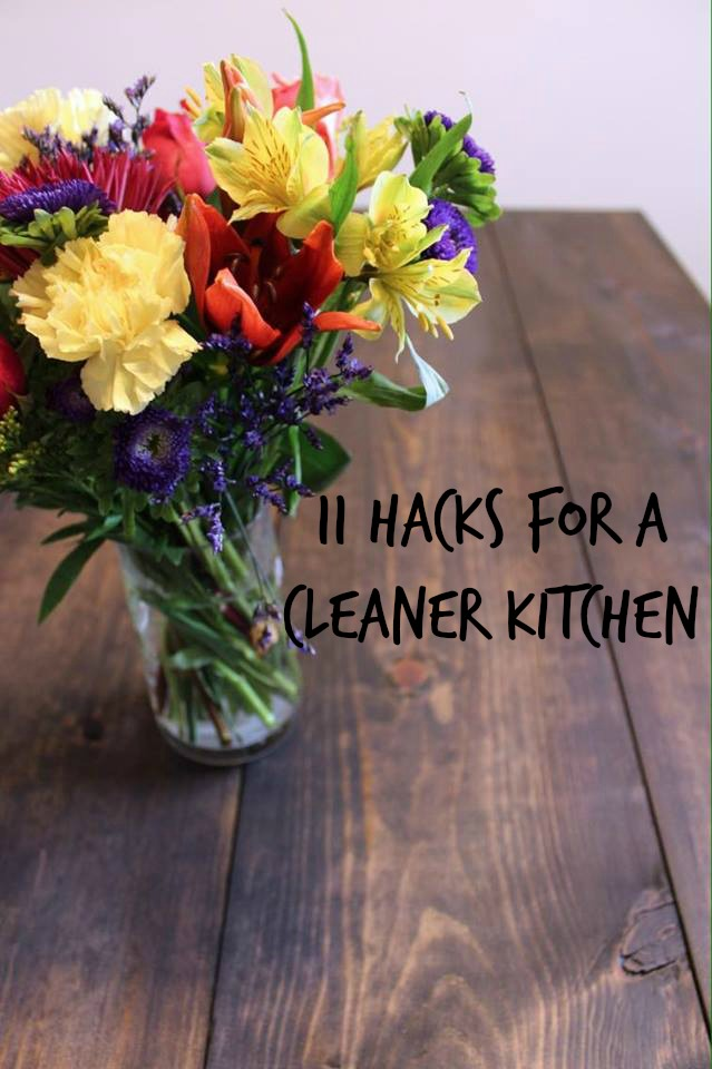 11 Hacks For A Cleaner Kitchen
