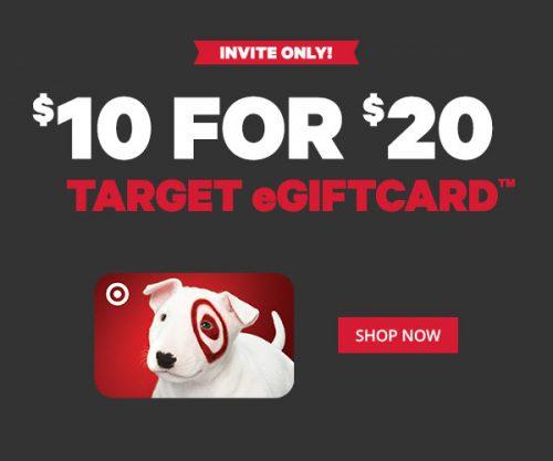 target eGiftCard Groupon