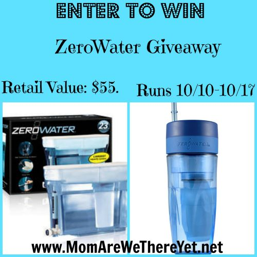 zerowater giveaway