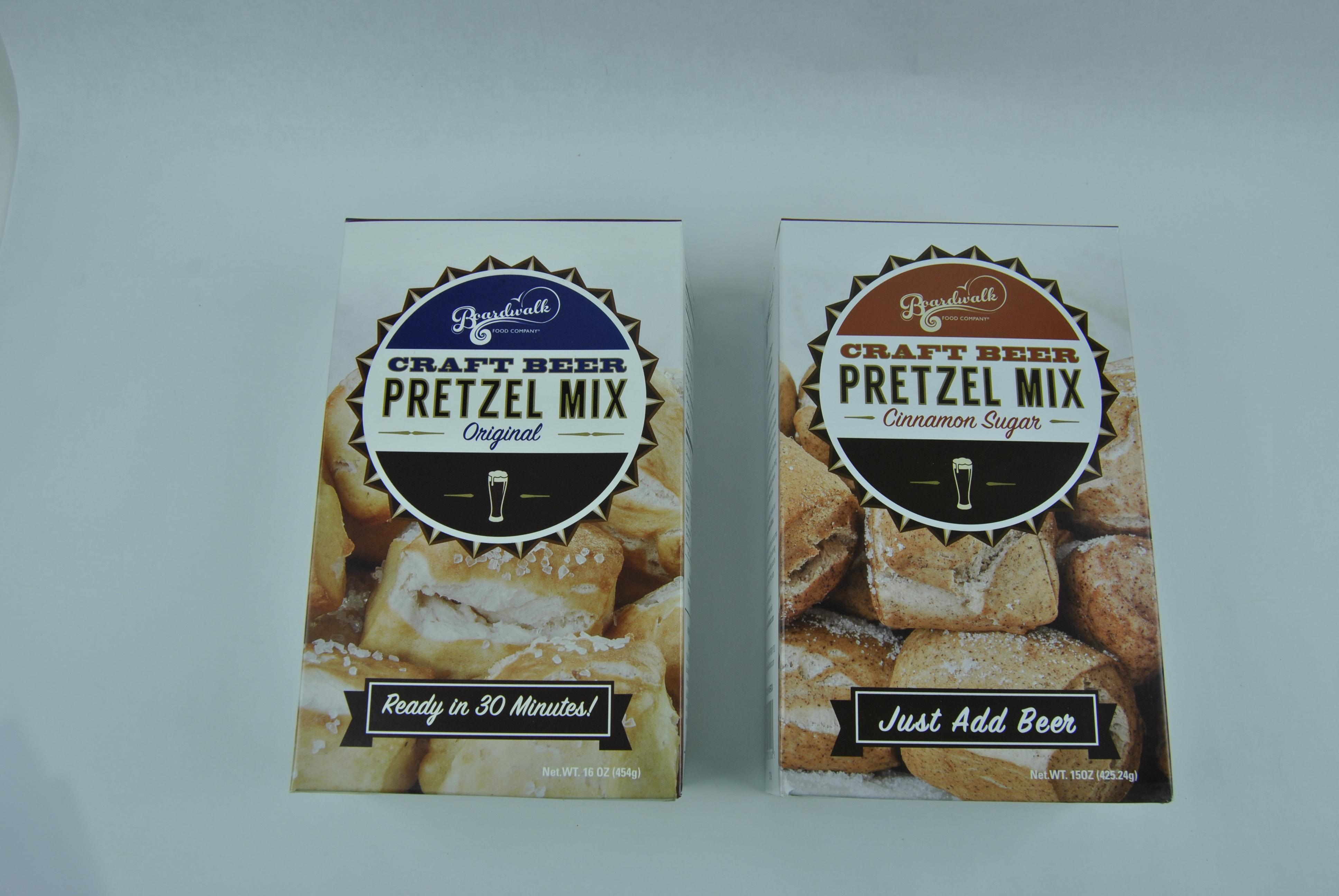 homemade pretzel kit