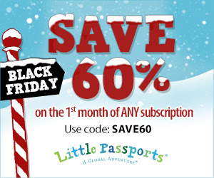 Exclusive Little Passports Black Friday Offer