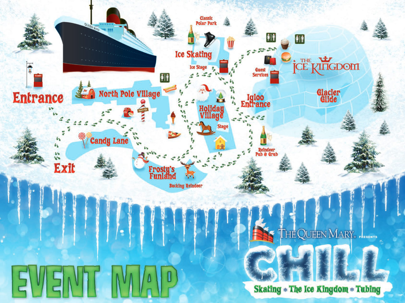 queen mary chill event-map