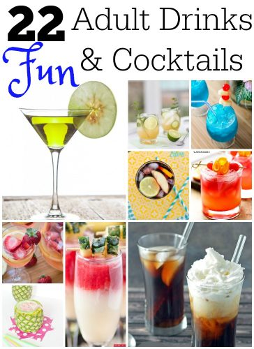 22 fun adult drinks cocktails mom are we there yet for Fun alcoholic drinks to make
