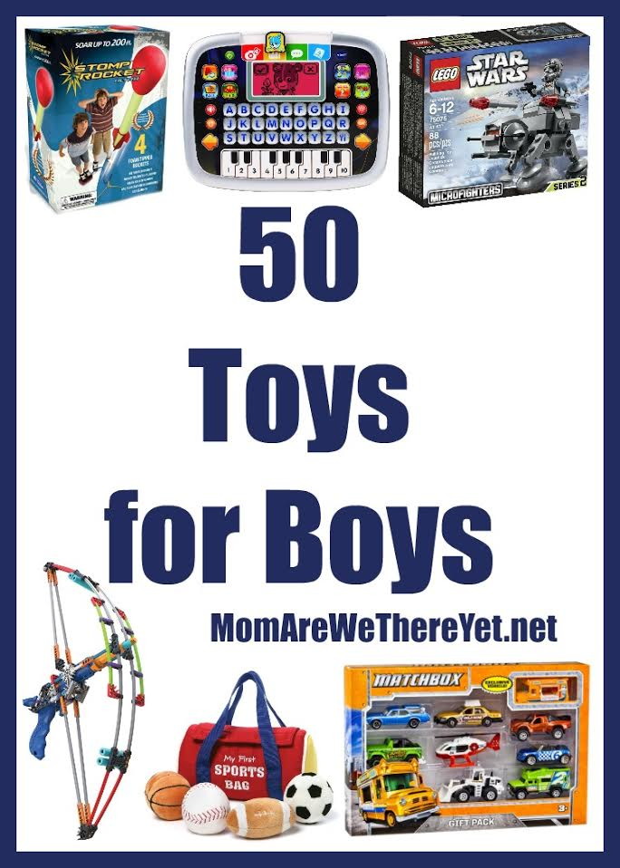 50 Toys For Boys For Christmas